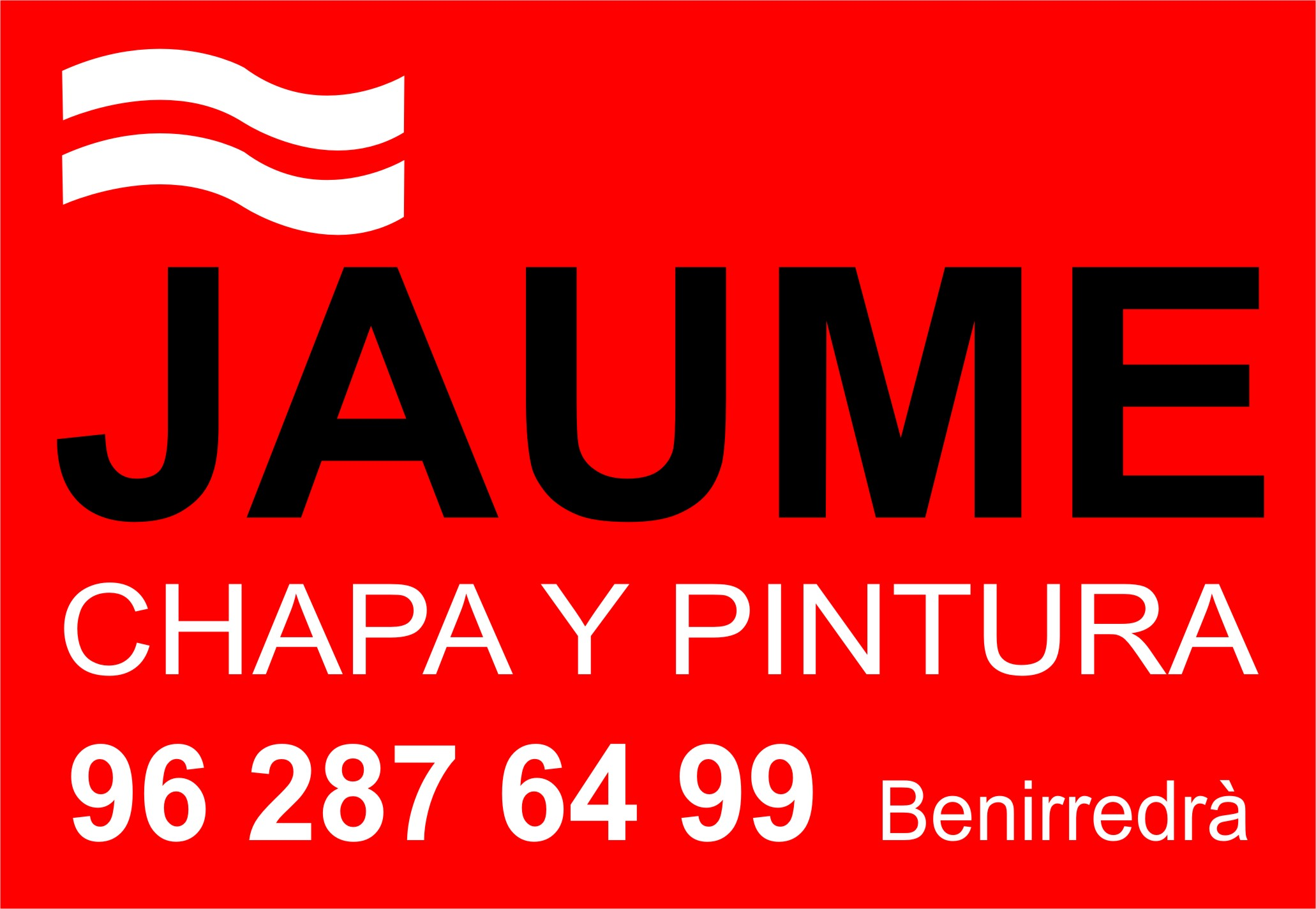 CHAPA Y PINTURA JAUME